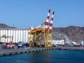 Grúas de puerto — Foto de Stock