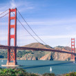 Foto Stock: Golden Gate Bridge (Clear Day)