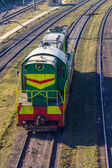 Engine trainen — Stockfoto