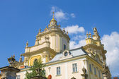 Old cathedral in Lviv — Stock Photo