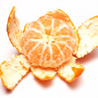 Stock Photo: Mandarine isolated on white background