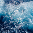 Stock Photo: Seething-Mediterranean-sea-water-shot-in-the-open-sea-from-direc