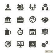 Office and business icons. — Stock Vector