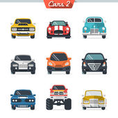 Car icon set 2 — Vector de stock