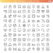 Travel Line Icons — Stock Vector #50413073