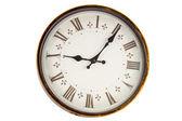 Wall retro clock — Stock Photo