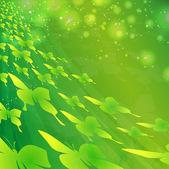 Groene vlinders — Stockvector