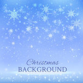 Background with snowflakes — 图库矢量图片