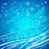 Weels sobre la nieve helada — Vector de stock