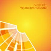 Shining sun — Stock Vector