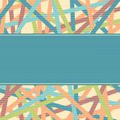 Linien-konzept-abbildung — Stockvektor