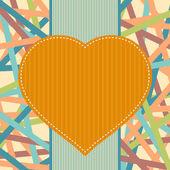 Ilustracja koncepcja serca — Wektor stockowy