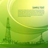 Industrial banner for your text — Stock vektor
