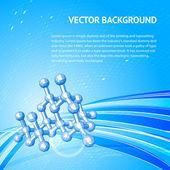Atom, molecule. — Stock Vector