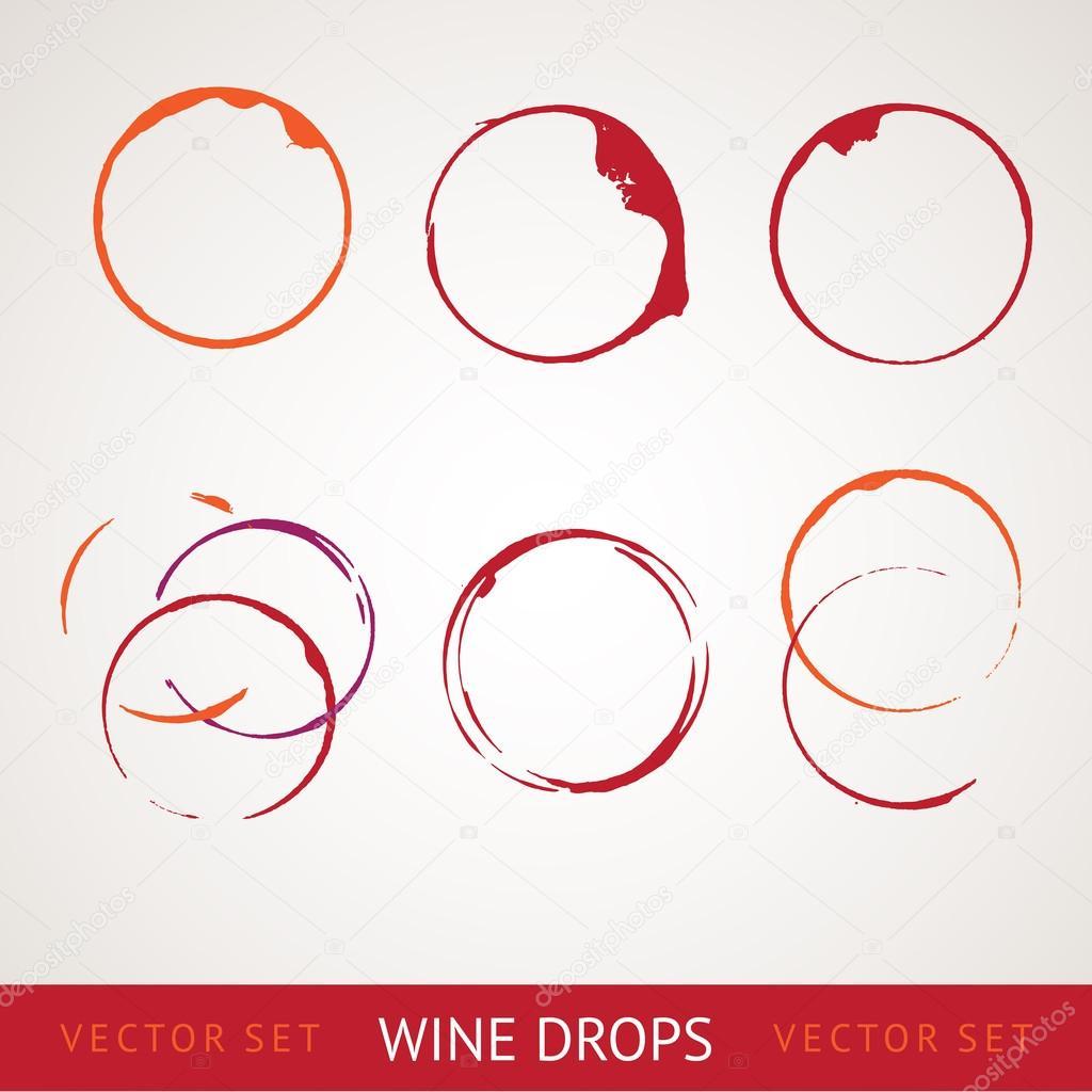 tache de vin rouge image vectorielle kotkoa 18711469. Black Bedroom Furniture Sets. Home Design Ideas