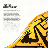Oil Pipelines — Stock Vector