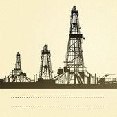 Drilling machine. — Stock Vector