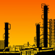 Oil refining. — Stock Photo