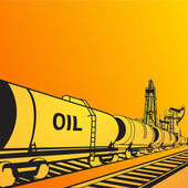 Oil transportation — Stock Photo