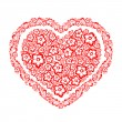 Royalty-Free Stock Imagen vectorial: Decorative heart