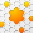 Abstract hexagon background. - Stock Vector