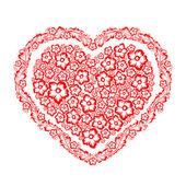 Decorative heart — Stock Vector
