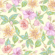 Seamless floral pattern — Stock Vector #24763287