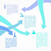 Oil industry infographic design. — Stock Vector