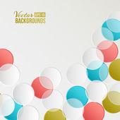 Confetti backdrop. — Stock Vector