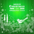 Christmas background. — Vettoriali Stock