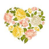 Valentine Heart Symbol. — Stock Vector