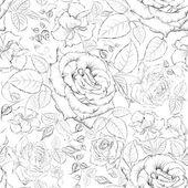 Rose sömlösa. — Stockvektor