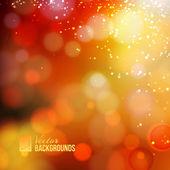 Yellow shine background — Stock Vector