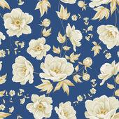 Teste padrão floral vintage. — Vetorial Stock