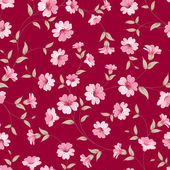 Flower samless pattern. — Stok Vektör