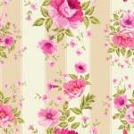 Roses, floral wallpaper — Stock Vector #46724513