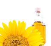 Sonnenblumenöl. — Stockfoto