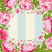 Luxurious flower wallapaper. — Stock Vector
