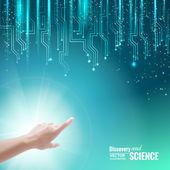 科学概念. — ストックベクタ