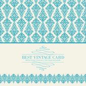 Invitation card. — Stock Vector