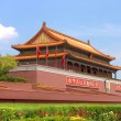 Tian An Men gate in Beijing, China - Stock Photo