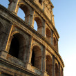 The Coliseum in sunset - Foto Stock