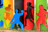 спортивная фигура — Стоковое фото