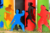 Sport figur — Stockfoto