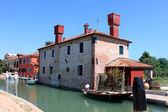 Murano w wenecja, włochy — Zdjęcie stockowe