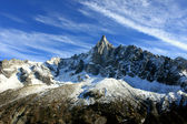 Les Drus Chamonix-Mont-Blanc France — Stock Photo