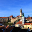 Cesky Krumlov in Czech — Stock Photo
