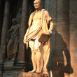 Statue in Milano Churchof Duomo - 