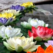 Religion flower in Jokhang Temple — Stock Photo