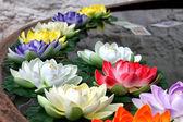 Religion flower in Jokhang Temple — Stock Photo